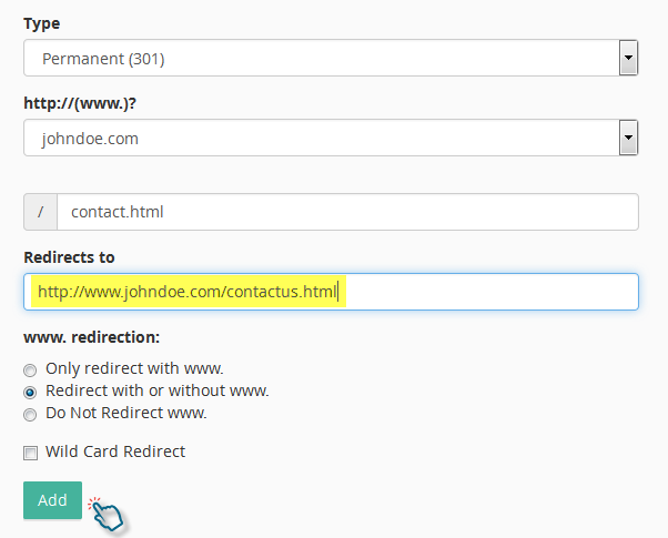 How to setup domain redirects in cPanel - Kualo Limited