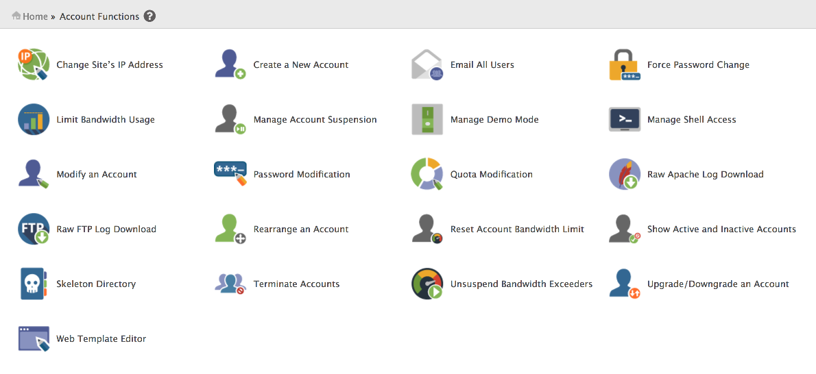 How to create a new cPanel account in WHM - Kualo Limited