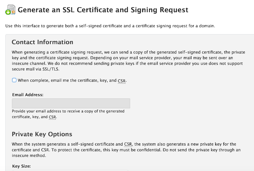 Generating And Installing Ssl Certificates Kualo Limited