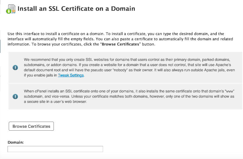Generating and Installing SSL certificates - Kualo Limited