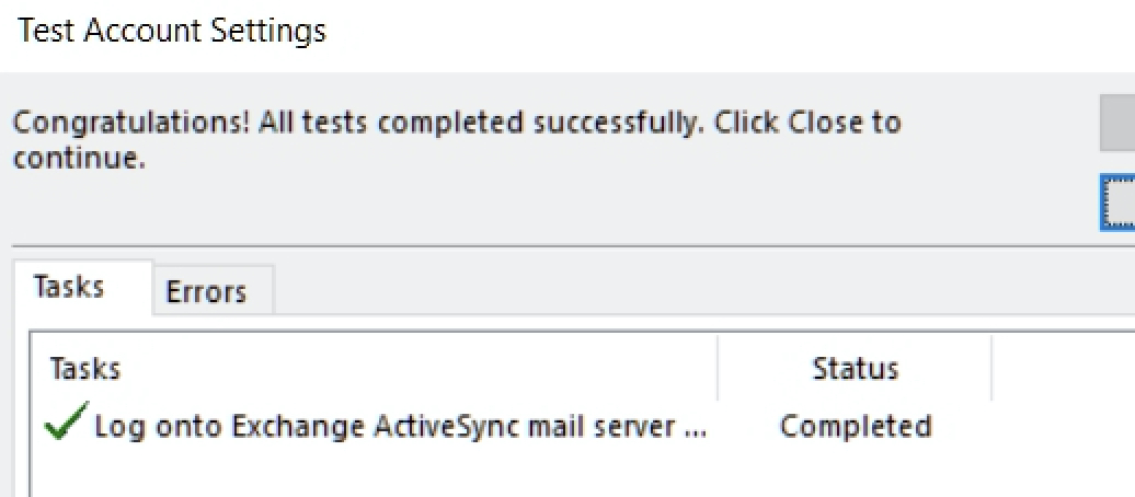Setting up a Zimbra Exchange Email Address in Microsoft Outlook 2016