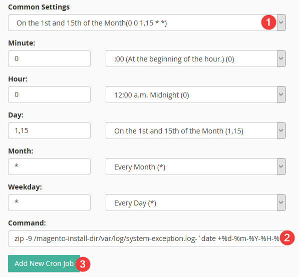 Setting up Log Retention in Magento v1 - Kualo Limited